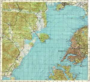 Топографическая карта владивостока и